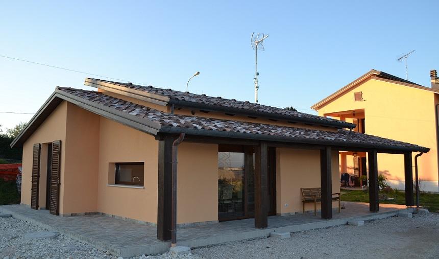 Casa in legno - Orciano (PU)