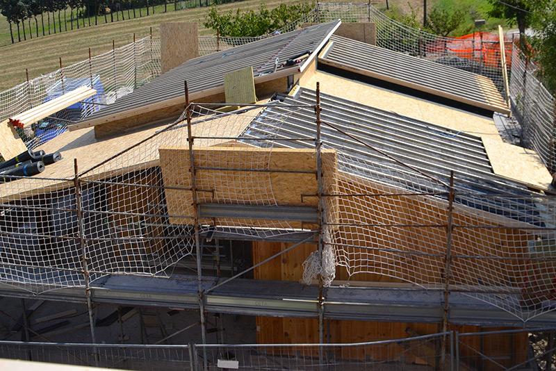 Formazione dello strato di ventilazione del tetto