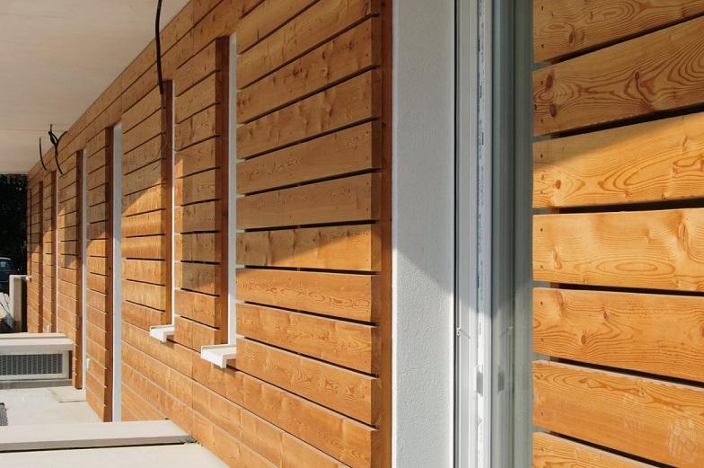 Parte del rivestimento esterno in legno