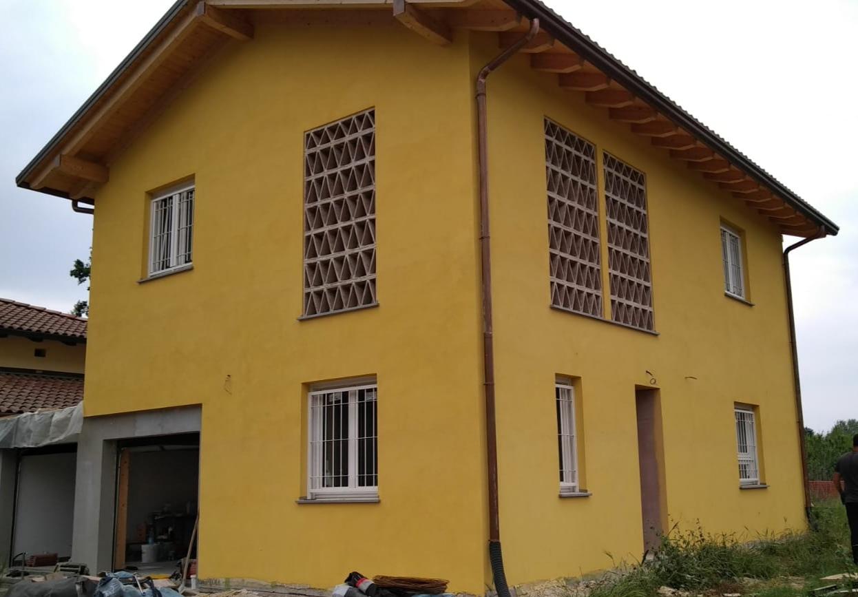 Casa in legno e paglia - bioedilizia - Bologna