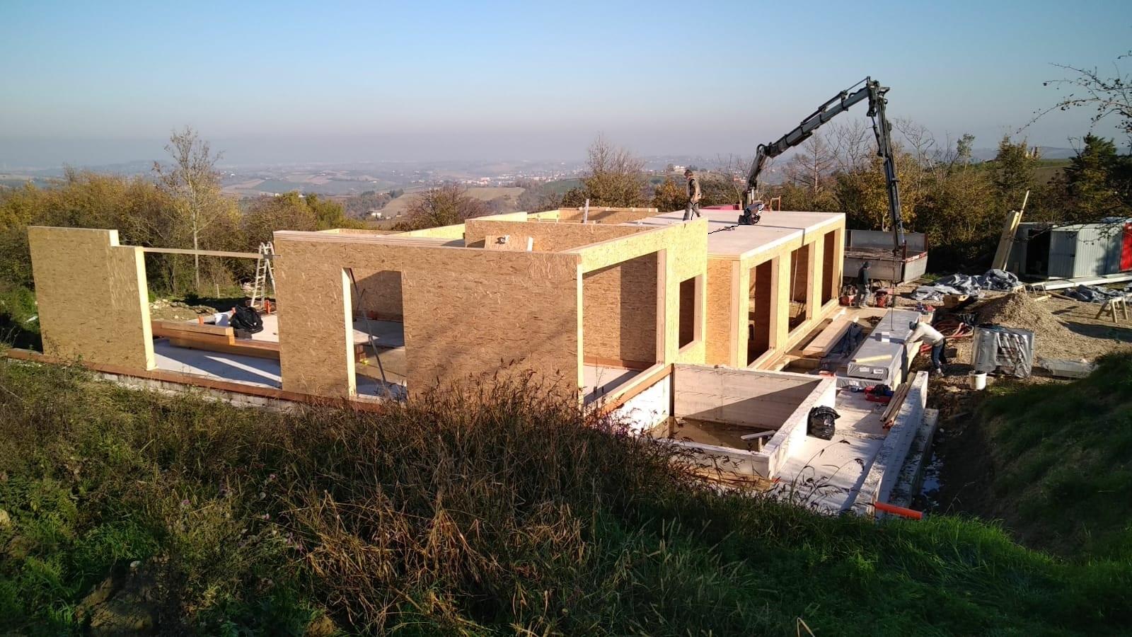 Nuova casa in legno - Verucchio (RN)