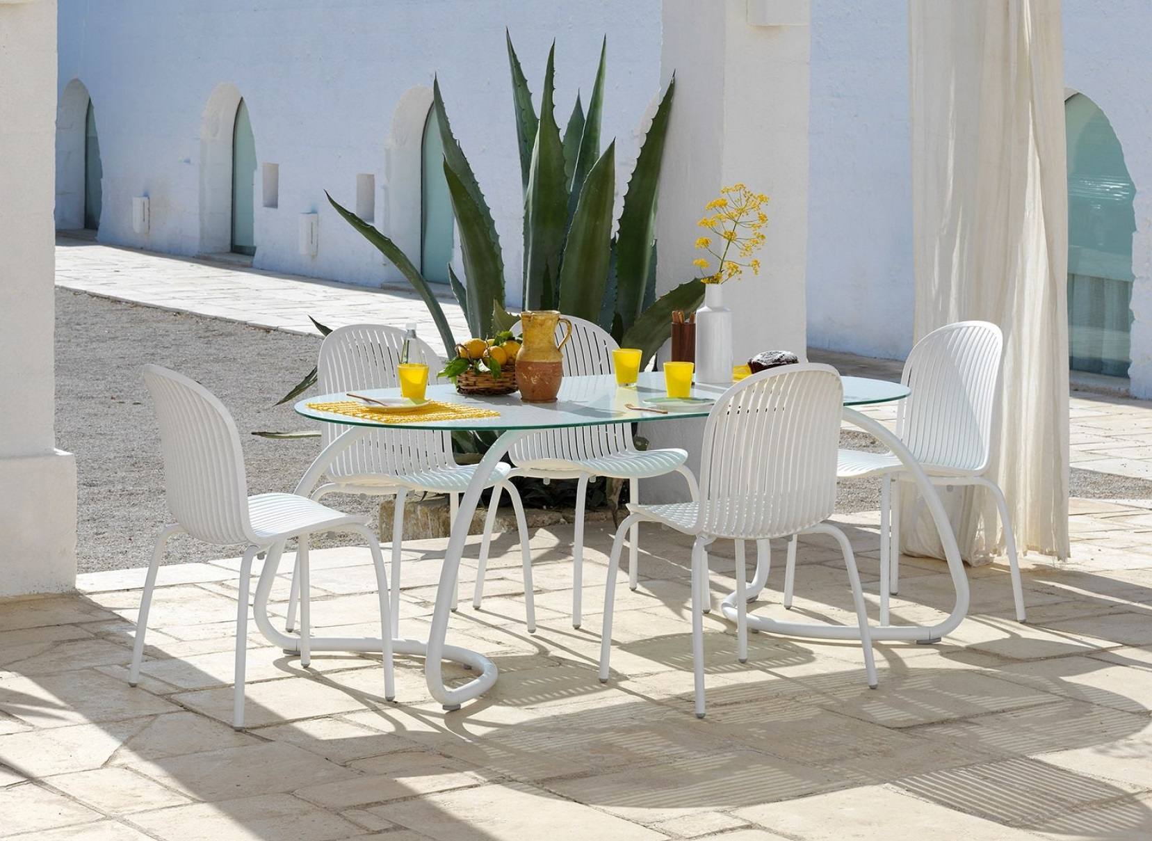 Tavolo Nardi Loto Dinner con sedie - foto 1